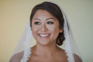 Wedding hair and makeup, there is something special about veils